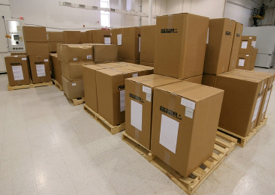 Atlantic Poly Corrugated cardboard boxes